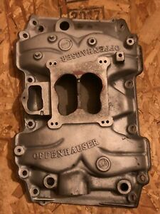 Buick Offenhauser 5874 Aluminum Intake Manifold 400 430 455 Vintage Offy 360
