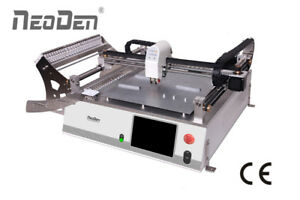 Smd Robot Pick And Place Machine Neoden3v Model With 2 Heads up down Cameras j