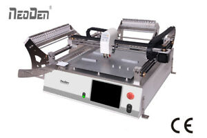Smt Led Pcb Pick And Place Machine With 2 Heads Model Neoden3v For Prototype j