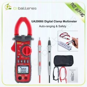 Unit Digital Clamp Meter Multimeter Handheld Rms Ac dc Auto ranging Ua2008b