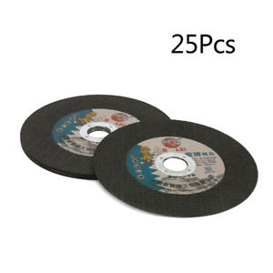 25pc 6 150mm Resin Cutting Wheel Disc For Angle Grinder Rotary Tools Bore 22mm