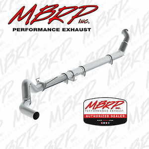 Mbrp 5 Inch Turbo Back Exhaust For 2004 2007 Dodge Ram 5 9l Cummins No Muffler