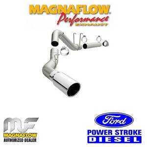 Magnaflow 4 Dpf Back Single Exhaust 2011 2018 Ford F250 F350 6 7l Powerstroke