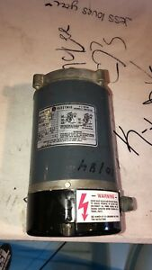 General Electric Thermally Protected A c Motor 115 230 V 3450 Rpm