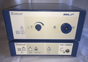 Aesculap Axel 180 Xenon Light Source With Pv 282 3 chip Digital Camera Console
