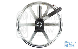 Biro Saw Upper Wheel Pulley Assembly With Hinge Plate And Cylinder For Fixed