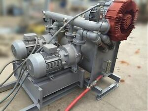 Siemens Whole shop 2 stage Liquid Ring Vacuum System 75hp Nice Must Sell