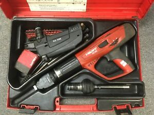 Hilti Powder Actuated Tool Dx460 With Mx72 Attachment And X 460 f8 Tested works