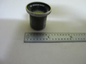 Optical Antique Lens De Mornay Budd Vintage Optics As Is Bin u4 b 03