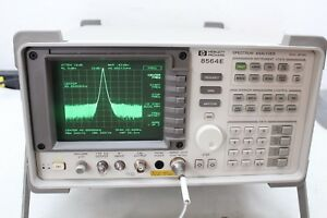 Hp Agilent 8564e Spectrum Analyzer 9khz 50 Ghz W 11970 Nist Calibration Cert