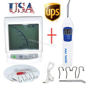 Dental Lcd Apex Locator Finder Endo Endodontic Pulp Tester Test Teeth Nerve Us