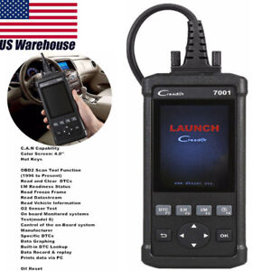Launch Can Obdii Code Reader 7001 Cr7001 Oil Reset Scanner Scan Diagnostic Tool