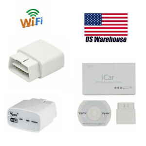 Elm327 Vgate Icar1 Wifi Obd2 Code Reader Auto Diagnostic Tool For Android Ios