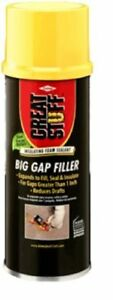 Great Stuff Big Gap Filler Expanding Straw Foam 20 Oz 157913 Pack Of 6