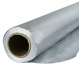 Houseables Radiant Barrier Insulation Aluminum Foil Roll 1000 Square Ft 250
