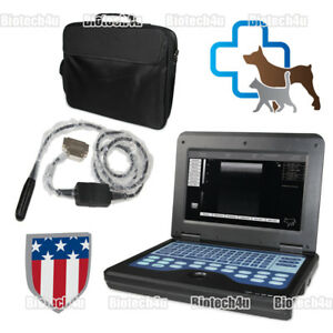 Vet Veterinary Portable Ultrasound Scanner Machine For Animal Horse cow Rectal