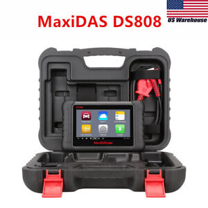 Autel Maxidas Ds808 Ds708 Obd2 Diagnostic Scan Tool Maxisys Ms906bt Mk808 Mx808