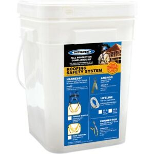Werner Fall Protection Roofing Kit