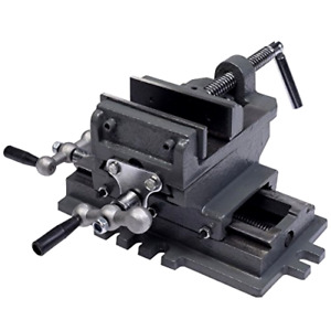 Goplus Gp 101040148 4 Cross Slide Drill Press Vise X y Compound Vise Cross Sl