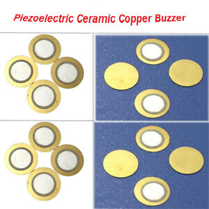 Diameter 12 35mm Piezoelectric Ceramic Copper Buzzer Passive Discs Film Gasket
