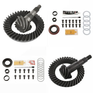 4 10 Ring And Pinion Gears Install Kit Package 8 Ifs Front 9 25 Rear