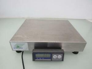 Mettler Toledo Ps60 Usb Shipping Parcel Scale 150lb X 0 05lb Stainless Cover