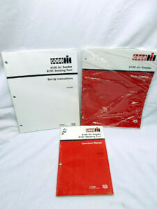 3 Catalog Manuals For The Case Ih Air Seeder Model 8100