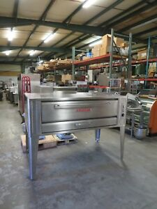 Blodgett 1060 Single Deck Gas Pizza Oven Full Rebuild Must See