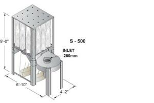 Nederman S Series Wood Dust Collector S 1000 208v 3 89401130