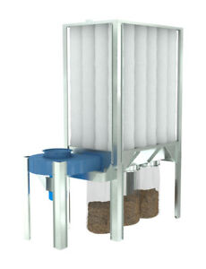 Nederman S Series Dust Collector Waste Plastic Bags roll Of 90 89201024