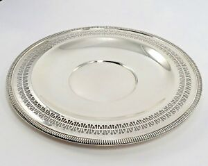 Wm Rogers 12 Silver Plate Serving Tray