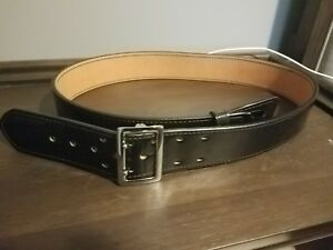 New Genuine Full Grain Leather Dutyman Size 46 Police Duty Belt