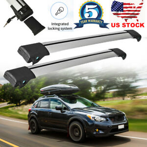 36 5 39 Universal Aluminum Auto Suv Car Roof Top Cross Bars Luggage Cargo Rack