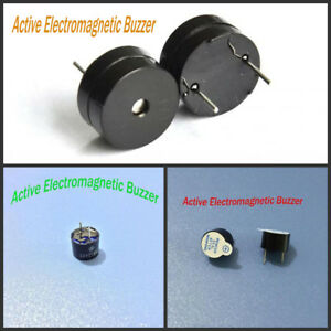 6 5 9 5mm Height 12mm Diameter Integrated Active Electromagnetic Buzzer Dc 5v