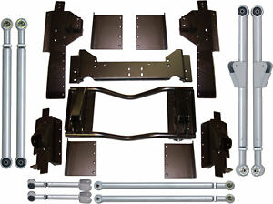 Rubicon Express Extreme Duty Long Arm Upgrade Kit For 93 98 Jeep Grand Cherokee