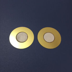 Diameter 50mm Copper Piezoelectric Ceramic Buzzer Passive Discs Film Gasket