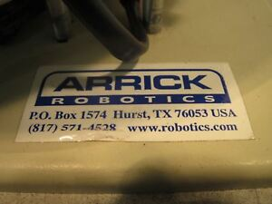 Arrick Robotics Rt 12 Rotary Positioner Laboratory Automation