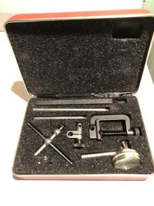 Starrett No 196 Dial Test Indicator Set With Case