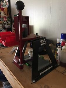 New Hornady lock n load classic press with inline fabrication stand