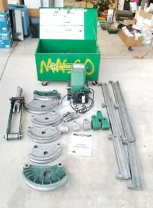 Greenlee 882 Greenlee 975 Flip Top Bender 1 25 2 Emt Hydraulic Power Pump