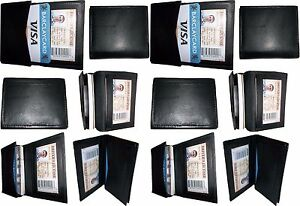 Lot Of 12 Leather Case Fifty Business Card Credit Card Holder Wholesale Price