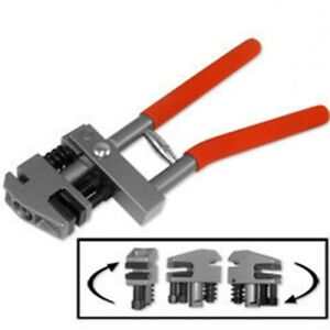 Hand Flange Steel Sheet Metal Punch And Crimping Crimp Punching Tool Puncher
