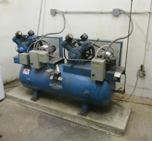 Barber Colman Air Compressor With Dual Heads Local Pickup Only