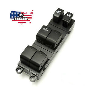 New Master Control Power Window Switch For 2009 2012 Nissan Sentra