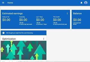 Google Adsense Usa And Uk Non Hosted Account For Website