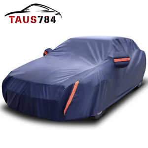 Car Cover Waterproof Rainproof Snowproof All Weather Protection Cars Up To 210