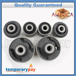 6x Front Lower Control Arm Inner Outer Bushing Kit For Accord Tl Tsx New
