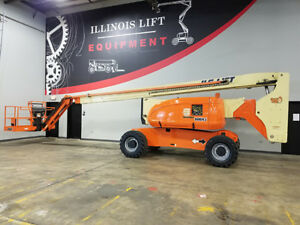 2005 Jlg 800aj 500lb Pneumatic Articulating Boom Lift Diesel Man Lift Skypower