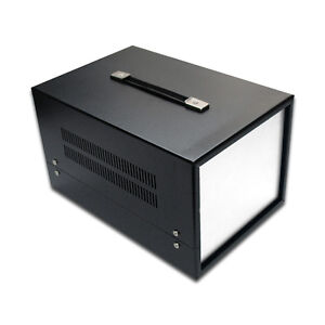 Sh1287 12 Metal Instrument Enclosure Chassis case For Diy