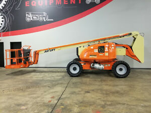 2005 Jlg 600an 500lb Pneumatic Articulating Telescopic Boom Lift Dual Fuel 4x4